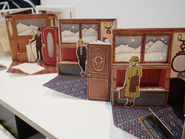 Murder on the Orient Express Pop-up Book